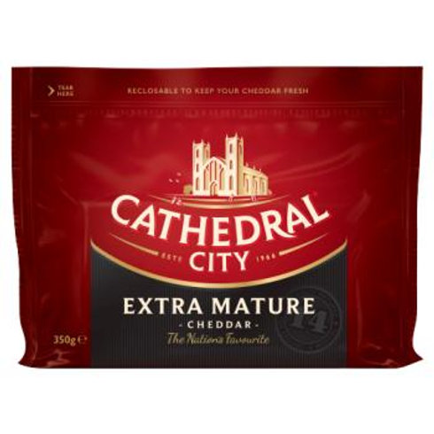Cathedral City extra mature cheddar - 350g