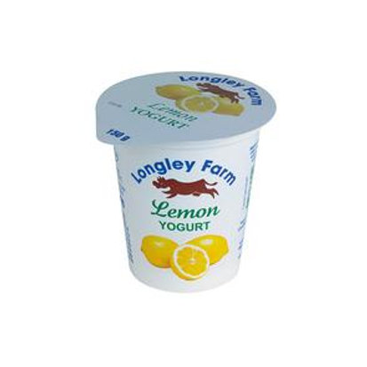 Longley Farm Lemon yogurt - 150g