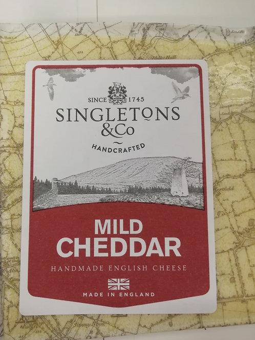 Cheddar mild white - 200g