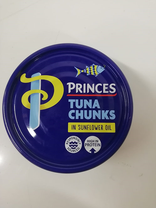 Princes Tuna Chunks in sunflower oil - 145g