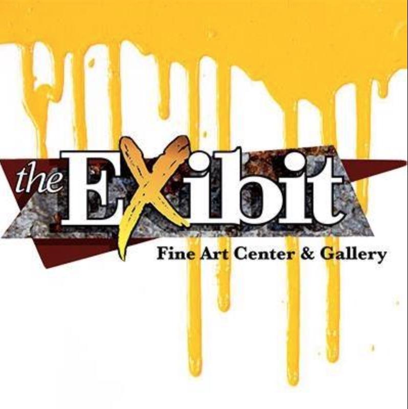 EXibit Logo - Yellow & White