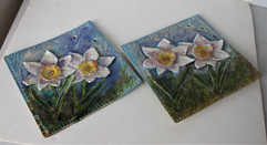 Daffodil Porcelain Tiles Glass Wall.JPG
