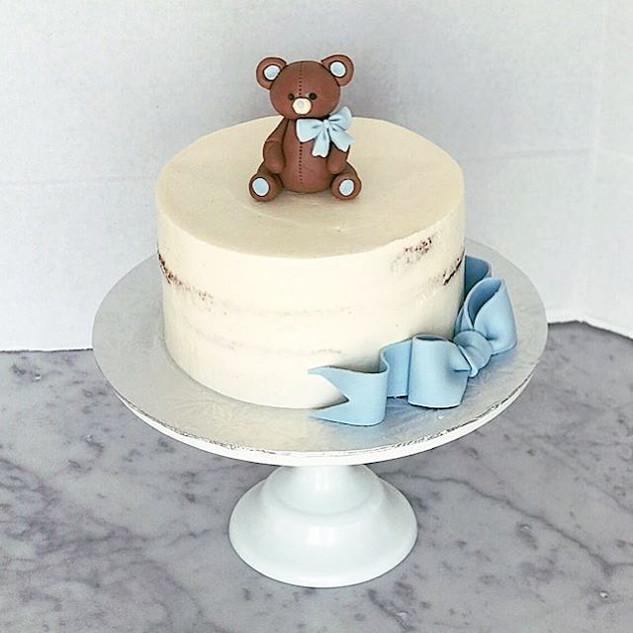 Semi Iced Buttercream Cake