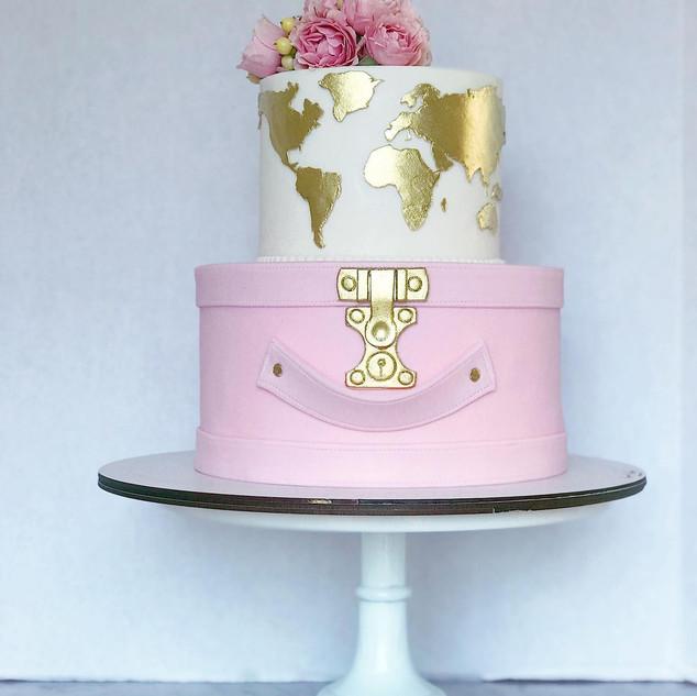 Bon Vayage Cake