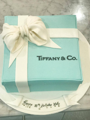 Tiffany square cake