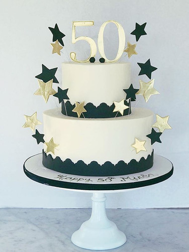 Buttercream 50th Birthday