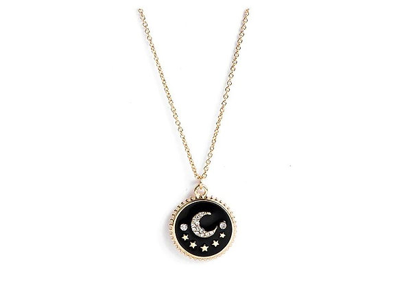 Moon and Star Necklace - Hollywood Sensations