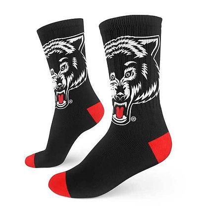 Gemini Wolf Socks - Okami