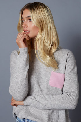 Pocket Cashmere Sweater - Lucy Nagle