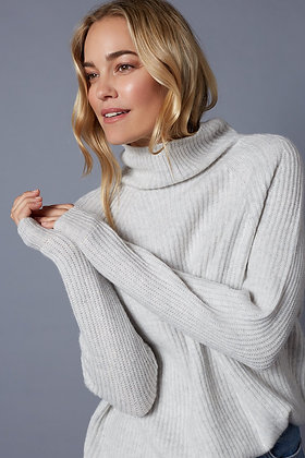 Long Rib Turtleneck - Lucy Nagle