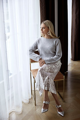 Super Sleeve Sweater - Lucy Nagle