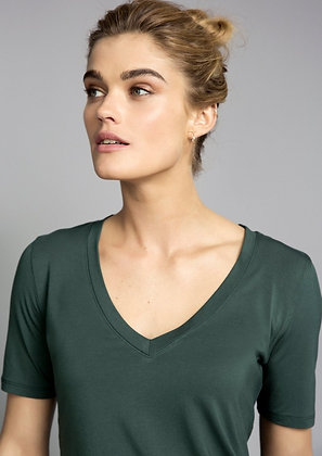 Cotton V Neck - Lucy Nagle