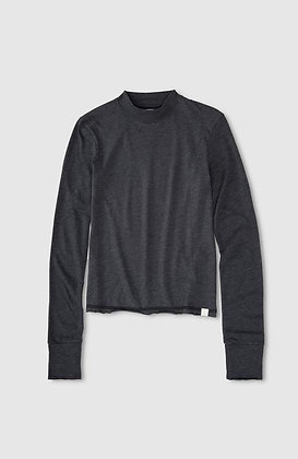 L/S Mock Neck - Jason Scott