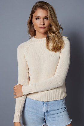 Cropped Cashmere Sweater - Lucy Nagle