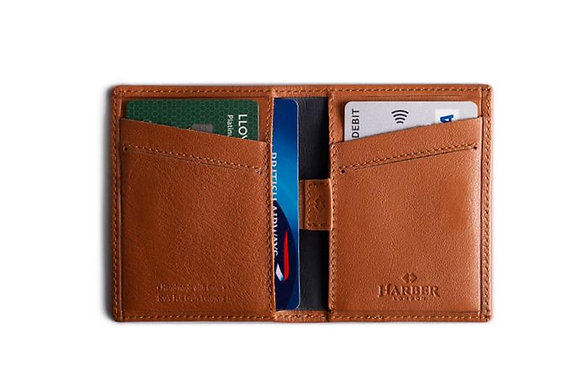 Leather Card Wallet - Harber London