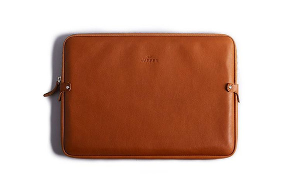 Leather Laptop Case - Harber London