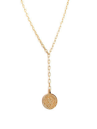 Gold Coin Necklace - Hollywood Sensations