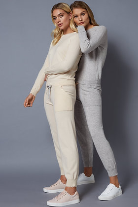 Cashmere Lounge Pants - Lucy Nagle