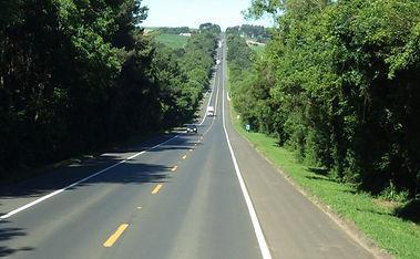 Estradas Oeste arborizadas   ..BR.....jp