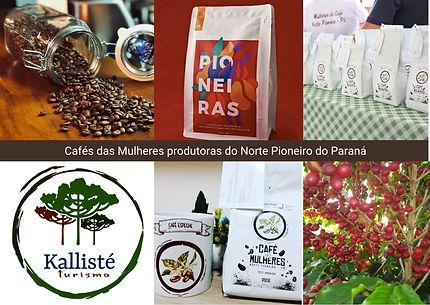 Cafés da Mulhres produtoras do Norte Pio