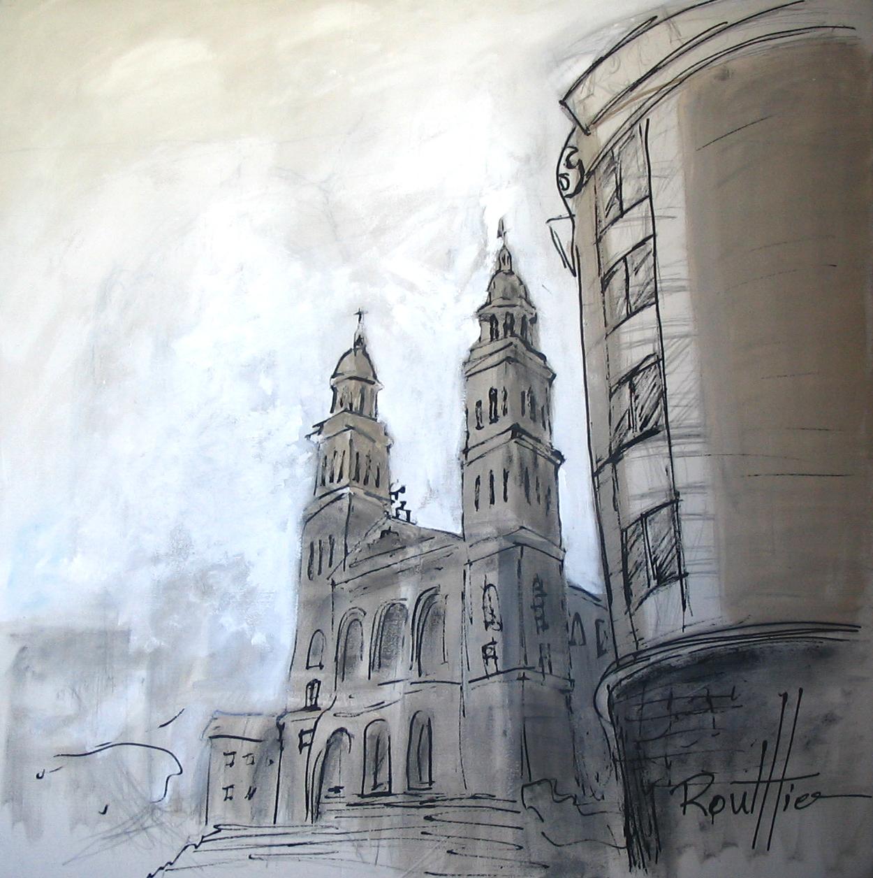 Hôtel-Chicoutimi et Cathédrale