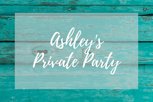 Ashley's Private Party, Knit & Sip, November 18th, 6:00pm