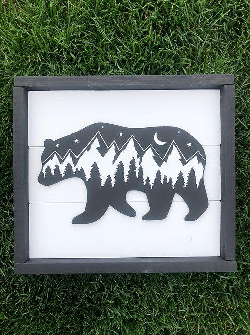 Farmhouse Bear Pallet Kit
