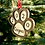 Thumbnail: Personalized Paw Ornament