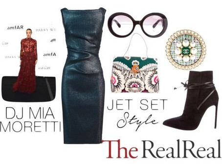 Jet Set Style With DJ Mia Moretti & The RealReal