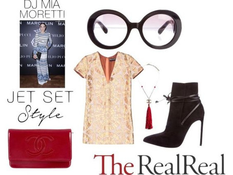 Jet Set Style With DJ Mia Moretti & The RealReal, part 1.