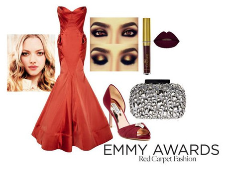 Amanda Seyfried - Emmy Awards Red Carpet Fashion