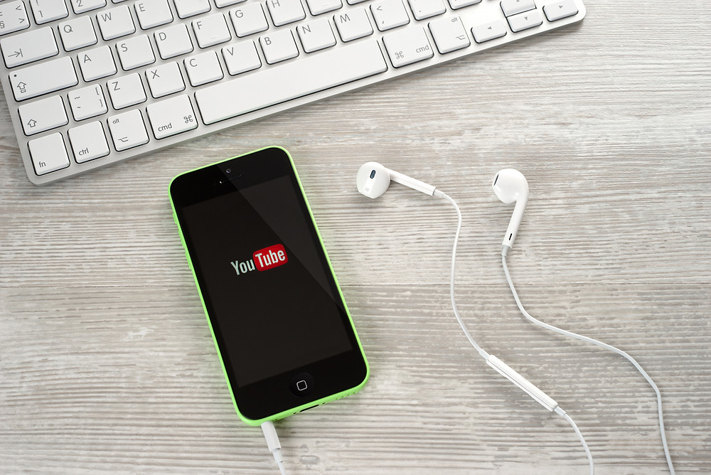 promote music at home with social media like YouTube