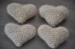 Plush Chiengora Hearts