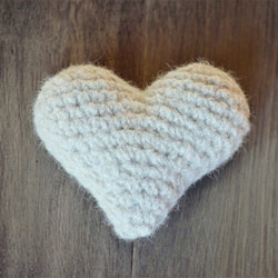 Plush Chiengora Heart