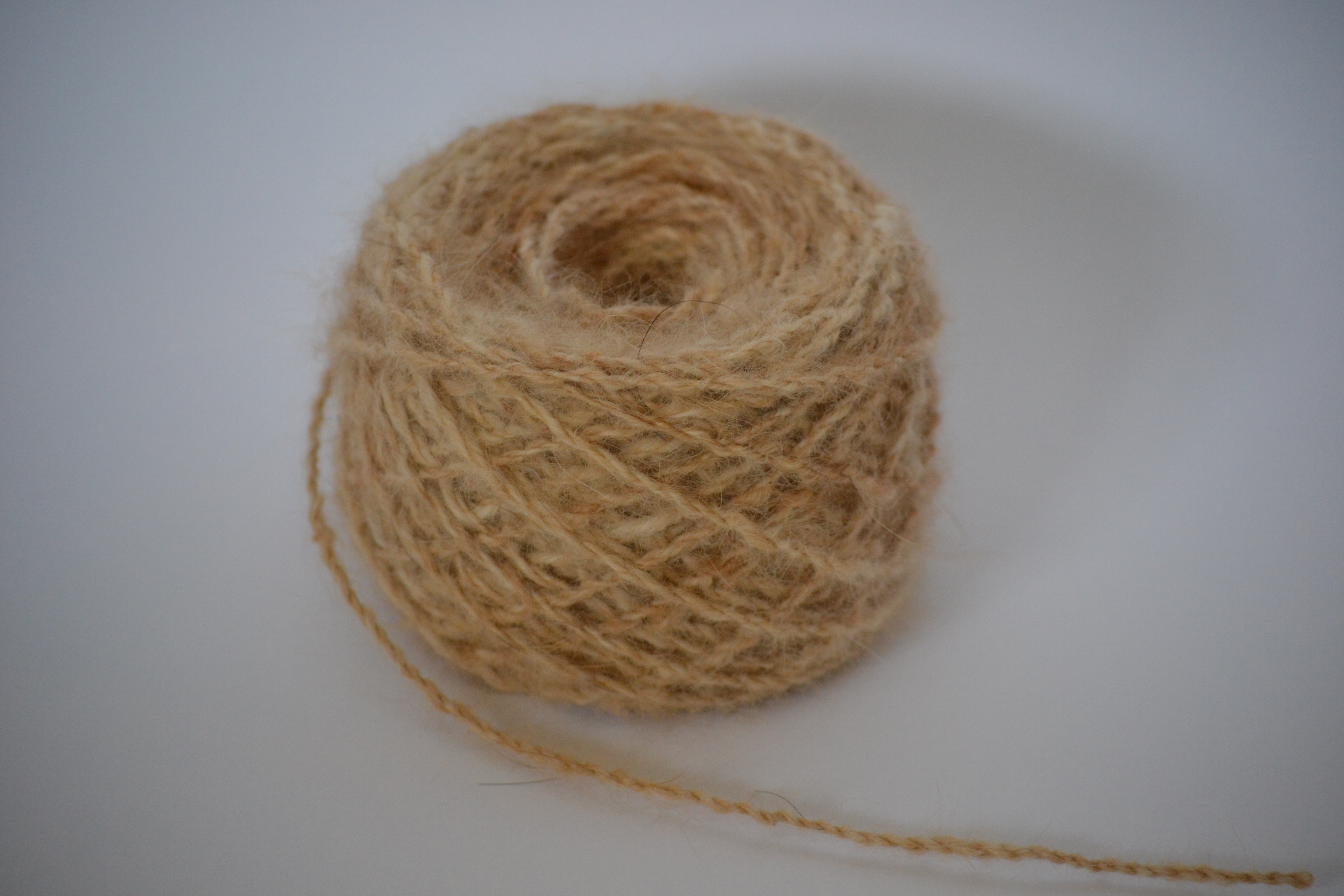 Chiengora Yarn - Center Pull Ball