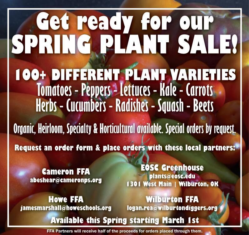 Spring Plant Sale 2017