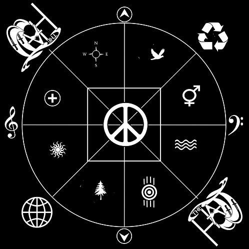 """Where Are You"" Compass BANDANA"