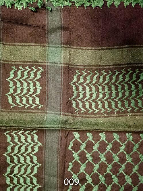 """Arabic Scarves """"Keffiyeh""""- 4ftx4ft - Various Colors #9-15"""