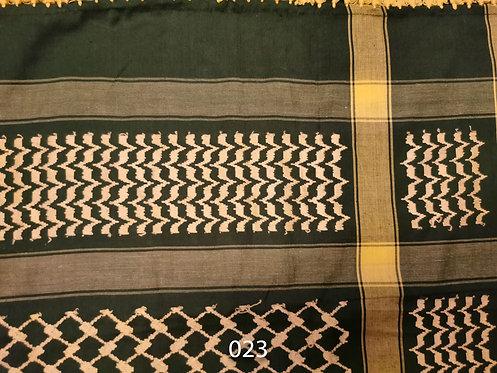 """Arabic Scarves """"Keffiyeh""""- 4ftx4ft - Various Colors #23-30"""