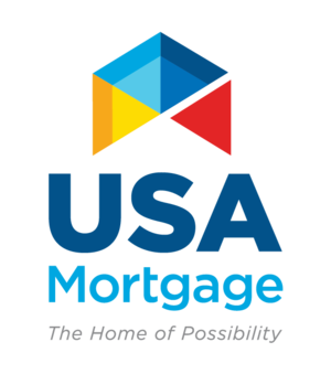 USA Mortgage Logo - 50 Sponsor