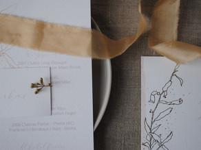 Ikebana – minimalistische DIY Vasen mit Fimo und Trockenblumen