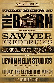 Sawyer Fredericks The Barn March 11, 201