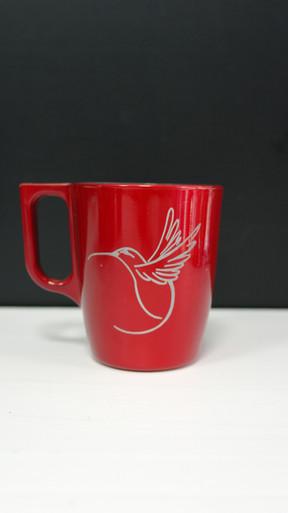 mug en verre rouge.JPG