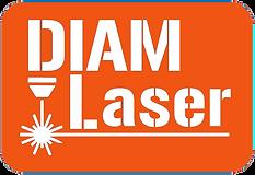 logo DIAM Laser orange.blanc.png