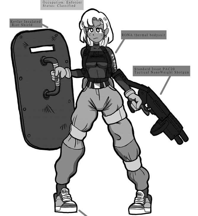 TINY THE ENFORCER