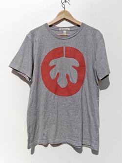 Camiseta gris logo aclarada