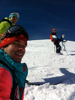 Ski freeride!