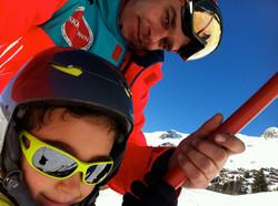 Lesson of Ski in Verbier!