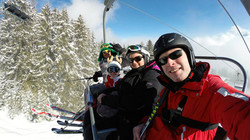 Lesson of Ski with Quentin!
