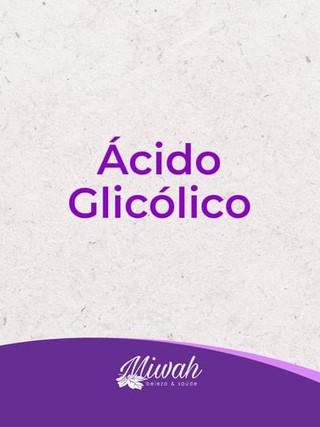 Ácido Glicólico você sabe o que?